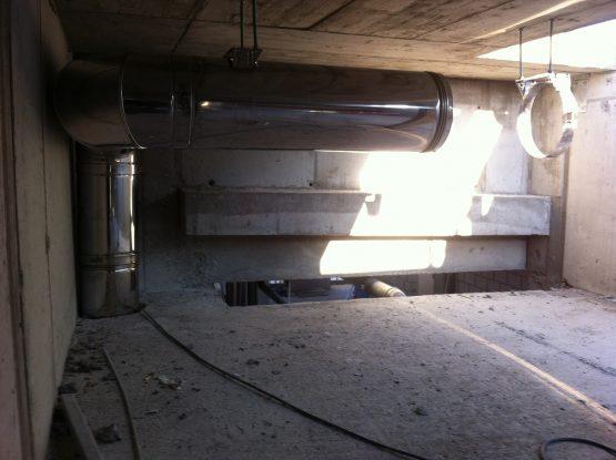 Montaż kominów do agregatów prądotwórczych