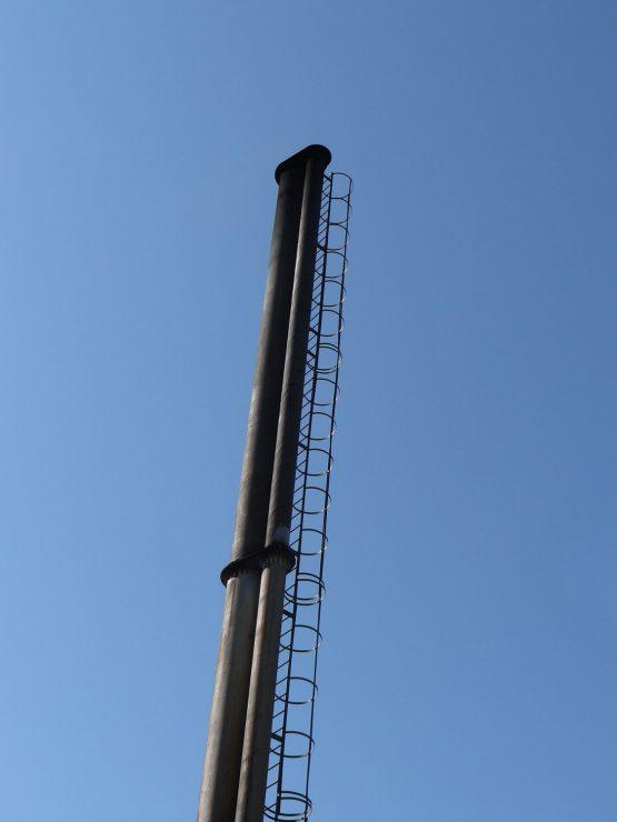 Montaż komina modułowego