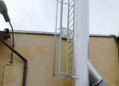 Produkcja, dostawa i montaż komina wolnostojącego BOJANOWO