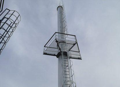 Projekt, produkcja, dostawa i montaż komina wolnostojącego w fabryce H+H